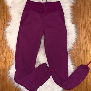 Lululemon Dance Studio Pants Fuschia